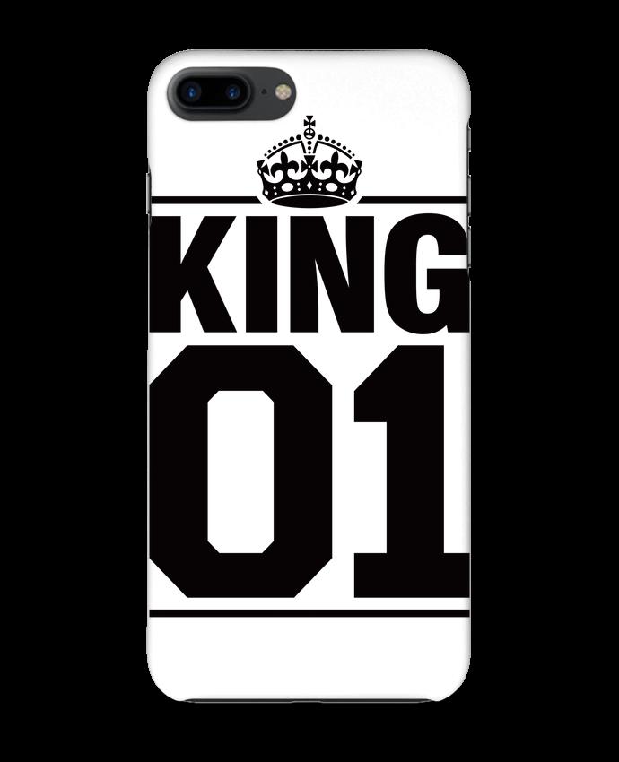 Coque iPhone 7 + King 01 par Freeyourshirt.com