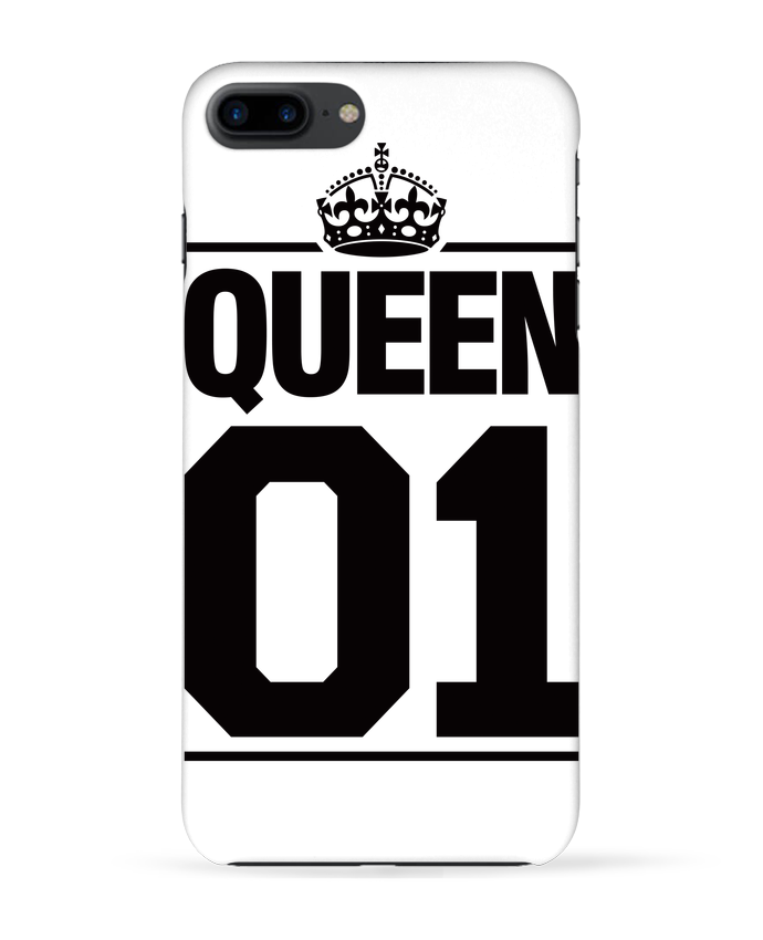 Coque 3D Iphone 7+ Queen 01 par Freeyourshirt.com