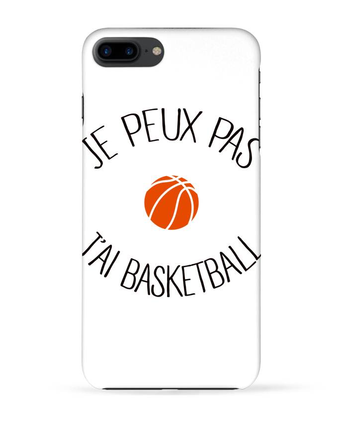 Coque 3D Iphone 7+ je peux pas j'ai Basketball par Freeyourshirt.com
