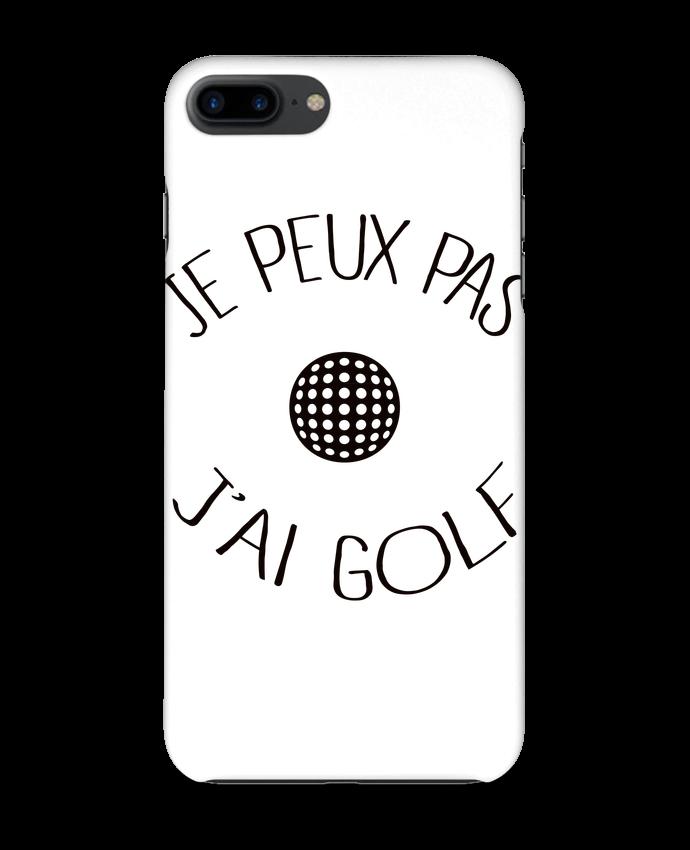 Coque 3D Iphone 7+ Je peux pas j'ai golf par Freeyourshirt.com