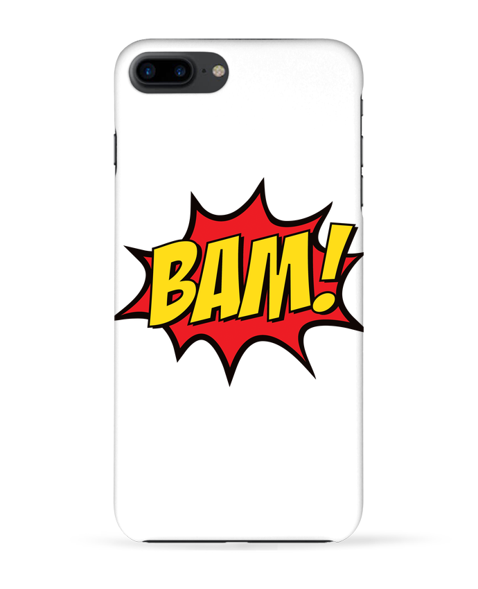 Coque 3D Iphone 7+ BAM ! par Freeyourshirt.com