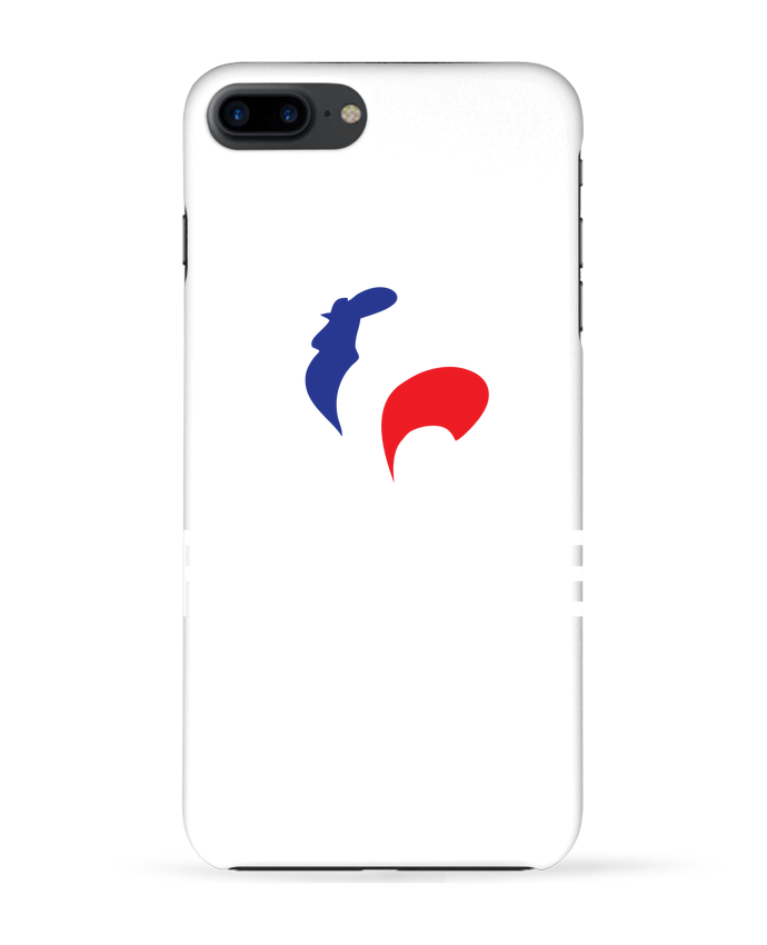 Coque 3D Iphone 7+ France et Coq par Freeyourshirt.com