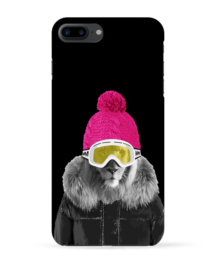 Coque 3D Iphone 7+ Lion snowboard par justsayin