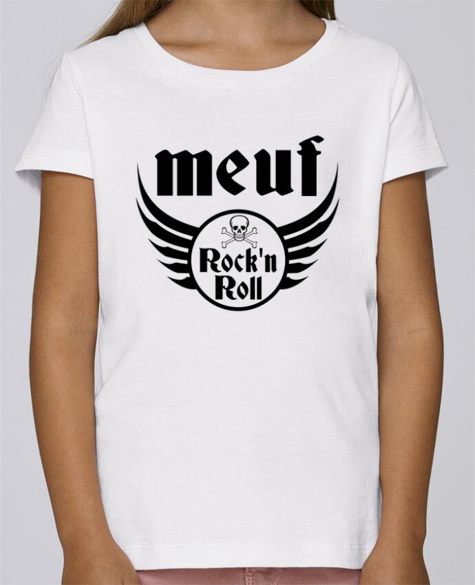T-shirt Fille Mini Stella Draws Meuf rock'n roll par Les Caprices de Filles