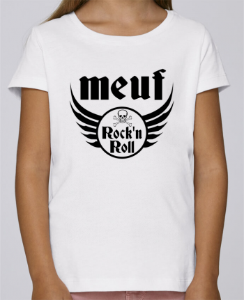 T-shirt Fille Mini Stella Draws Meuf rock'n roll par Les Caprices de Filles
