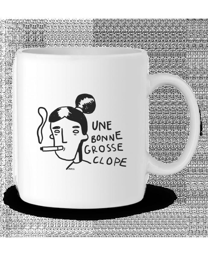Mug en Céramique CLOPE (une bonne grosse) par RSTLL