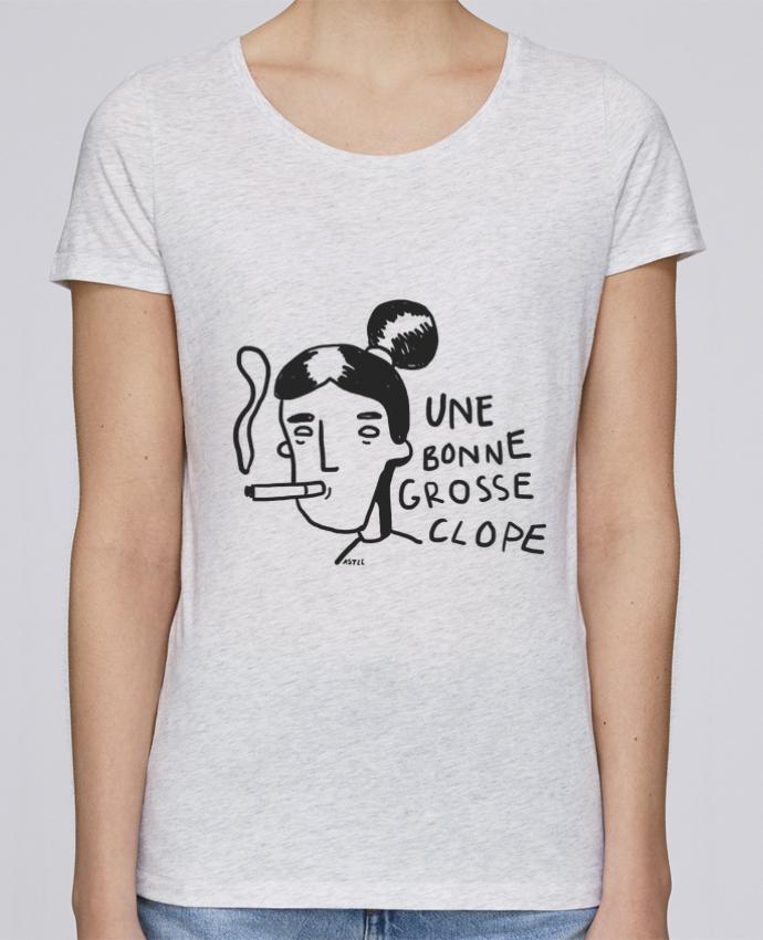 T-shirt Femme Stella Loves CLOPE (une bonne grosse) par RSTLL