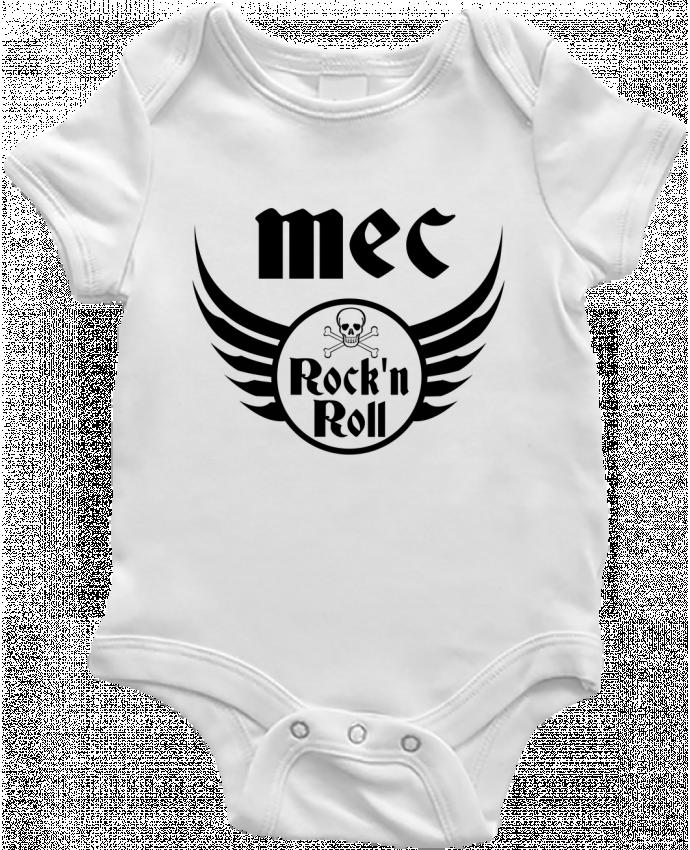 Body Bébé Mec rock'n roll par Les Caprices de Filles