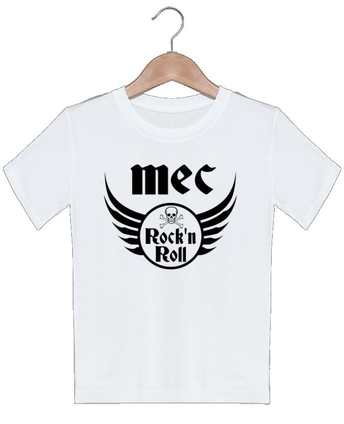 T-shirt garçon motif Mec rock'n roll Les Caprices de Filles