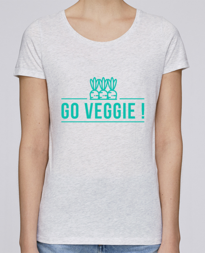 T-shirt Femme Stella Loves Go veggie ! par Folie douce