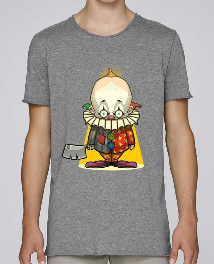T-shirt Homme Oversized Stanley Skates Choppy Clown par SirCostas