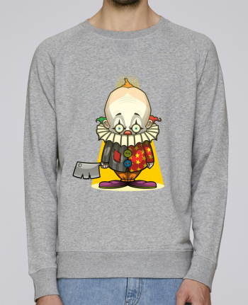 Sweat Col Rond Homme Stanley Strolls Choppy Clown par SirCostas