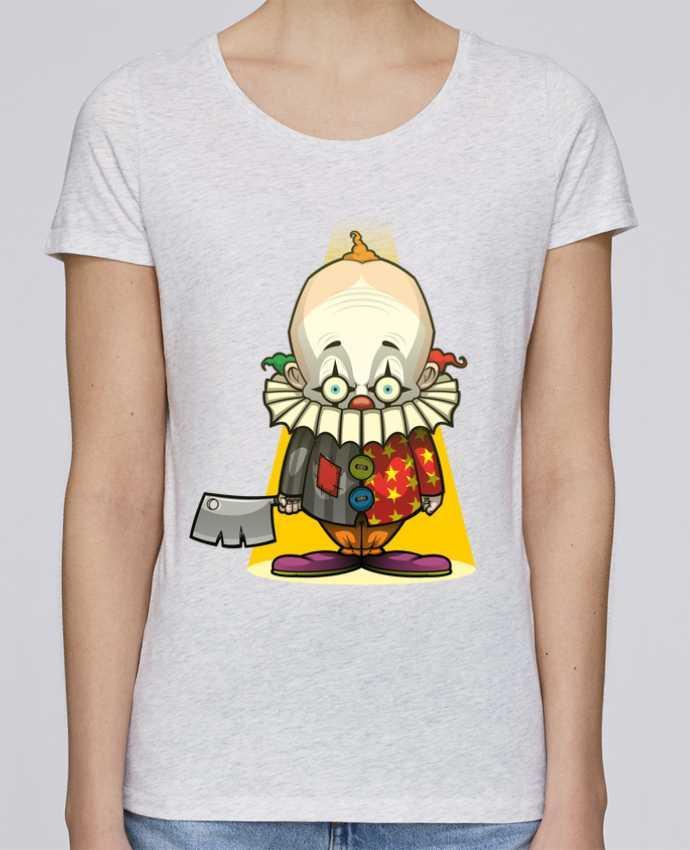 T-shirt Femme Stella Loves Choppy Clown par SirCostas