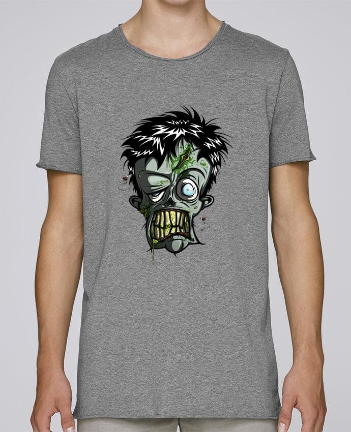 T-shirt Homme Oversized Stanley Skates Toxic Zombie par SirCostas