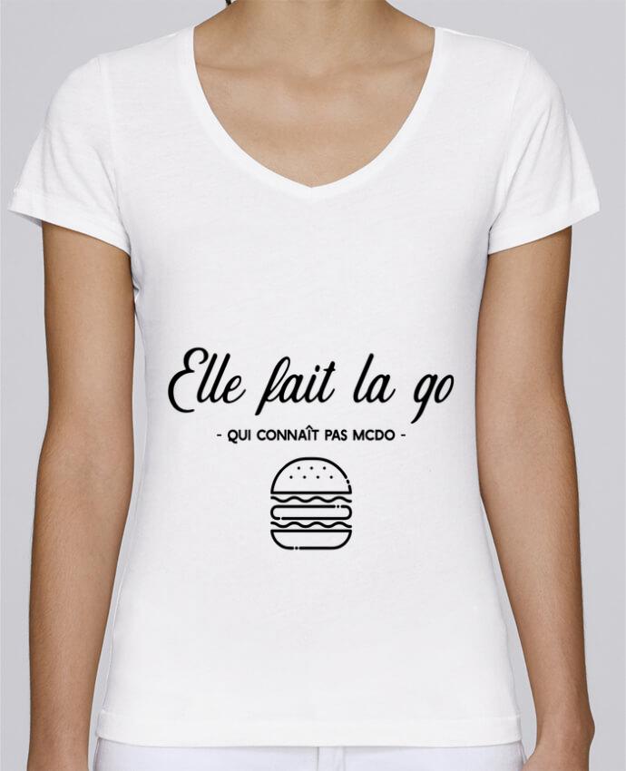 T-shirt Femme Col V Stella Chooses
