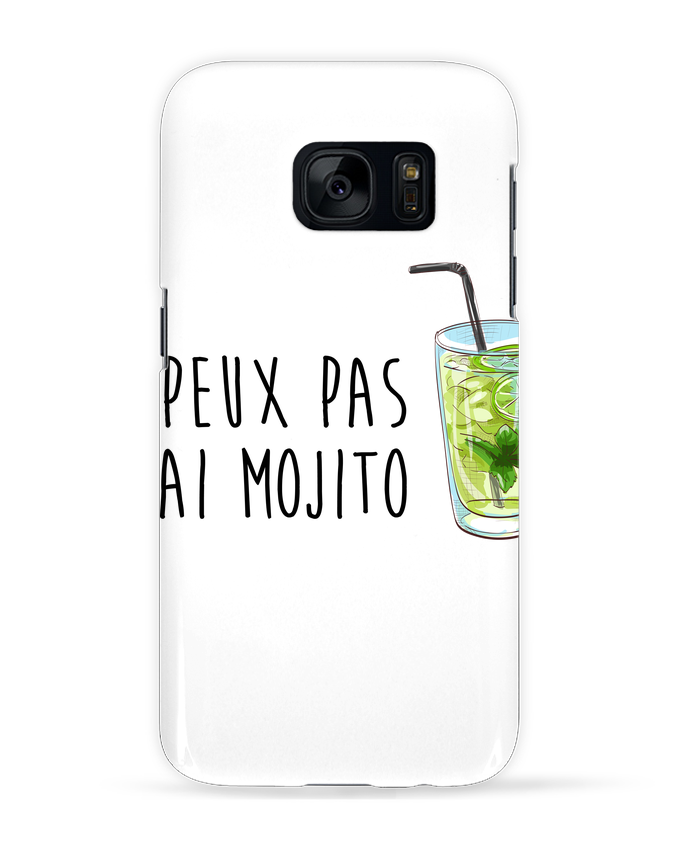 Coque 3D Samsung Galaxy S7 Je peux pas j'ai mojito par FRENCHUP-MAYO