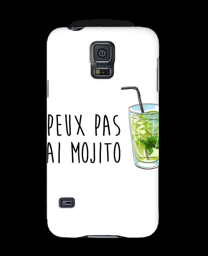 Coque Samsung Galaxy S5 Je peux pas j'ai mojito par FRENCHUP-MAYO