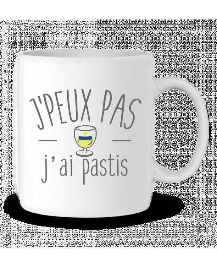 Mug en Céramique Je peux pas j'ai pastis par FRENCHUP-MAYO