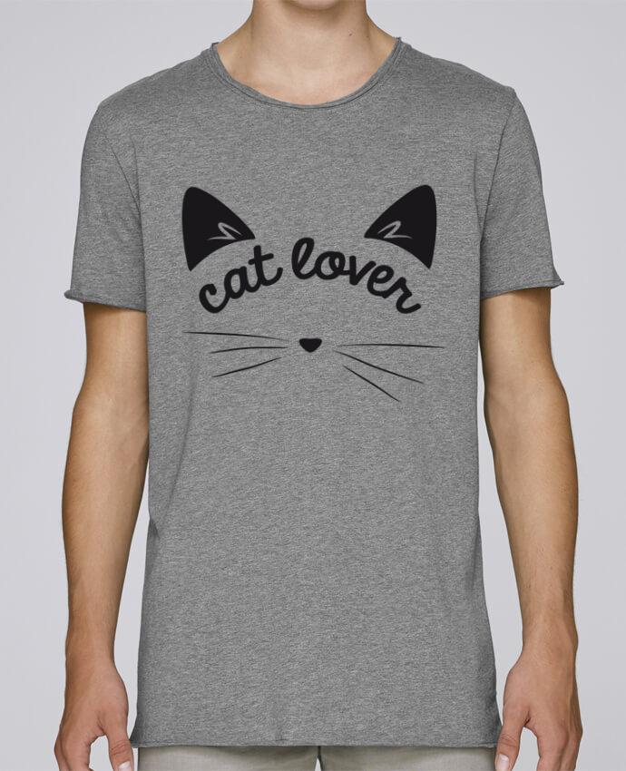 T-shirt Homme Oversized Stanley Skates Cat lover par FRENCHUP-MAYO