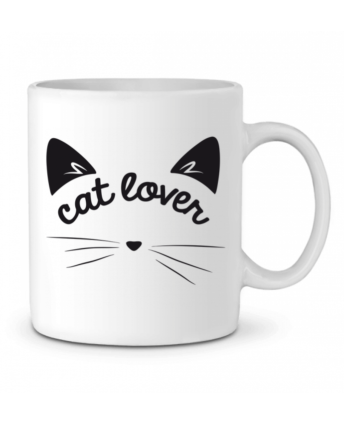Mug en Céramique Cat lover par FRENCHUP-MAYO