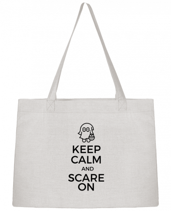 Sac Cabas Shopping Stanley Stella Keep Calm and Scare on little Ghost par tunetoo