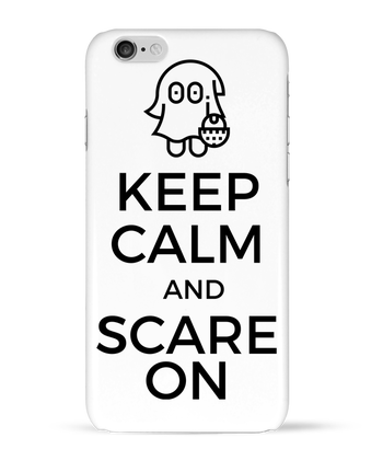 Coque 3D Iphone 6 Keep Calm and Scare on little Ghost par tunetoo