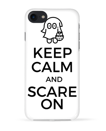 Coque 3D Iphone 7 Keep Calm and Scare on little Ghost de tunetoo