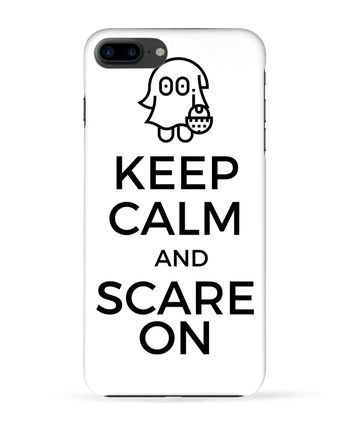 Coque 3D Iphone 7+ Keep Calm and Scare on little Ghost par tunetoo
