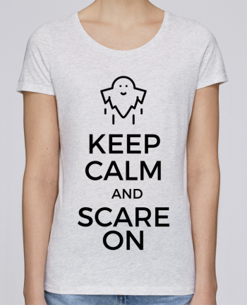 T-shirt Femme Stella Loves Keep Calm and Scare on Ghost par tunetoo
