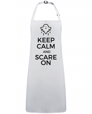 Tablier Sans Poche Keep Calm and Scare on Ghost par  tunetoo