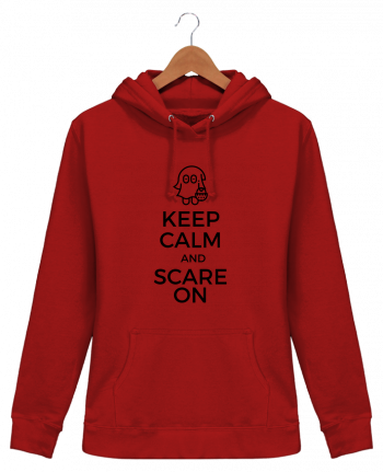 Sweat à Capuche Femme Keep Calm and Scare on little Ghost - tunetoo