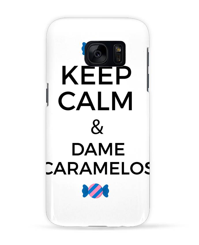 Coque 3D Samsung Galaxy S7 Keep Calm and Dame Caramelos par tunetoo
