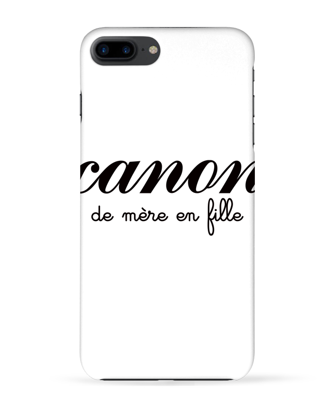 Coque 3D Iphone 7+ Canon de mère en fille par Freeyourshirt.com