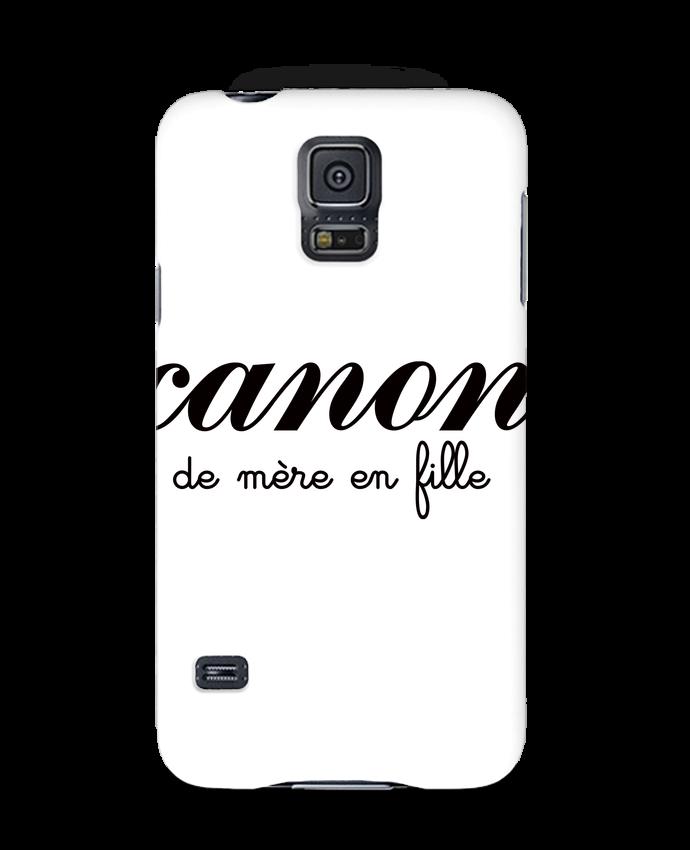 Coque 3D Samsung Galaxy S5 Canon de mère en fille par Freeyourshirt.com