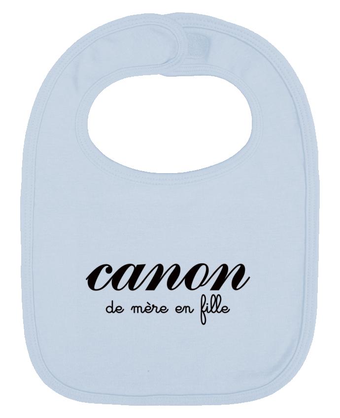 Bavoir Uni et Contrasté Canon de mère en fille par Freeyourshirt.com
