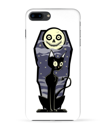 Coque 3D Iphone 7+ Coffin Cat par SirCostas