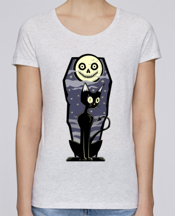 T-shirt Femme Stella Loves Coffin Cat par SirCostas