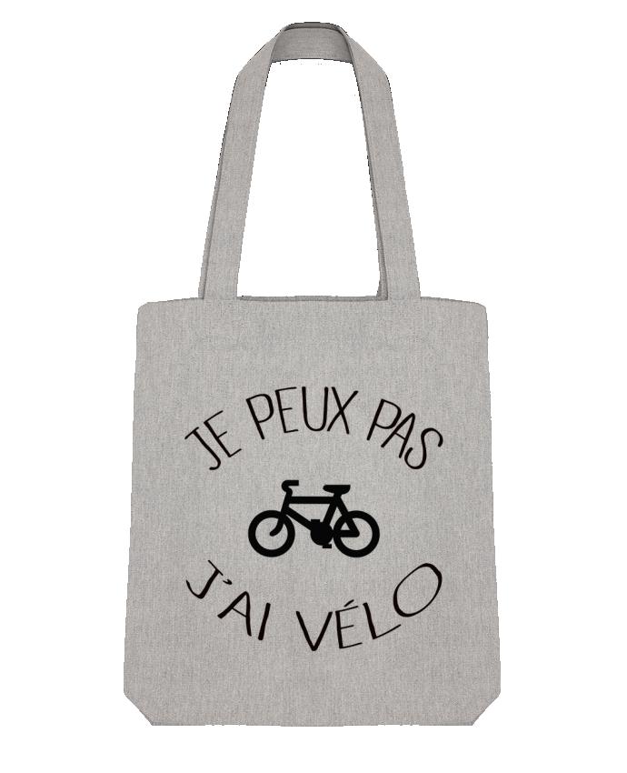 Tote Bag Stanley Stella Je peux pas j'ai vélo par Freeyourshirt.com