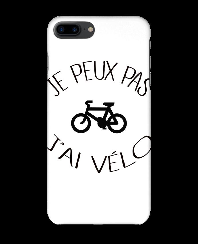 Coque 3D Iphone 7+ Je peux pas j'ai vélo par Freeyourshirt.com