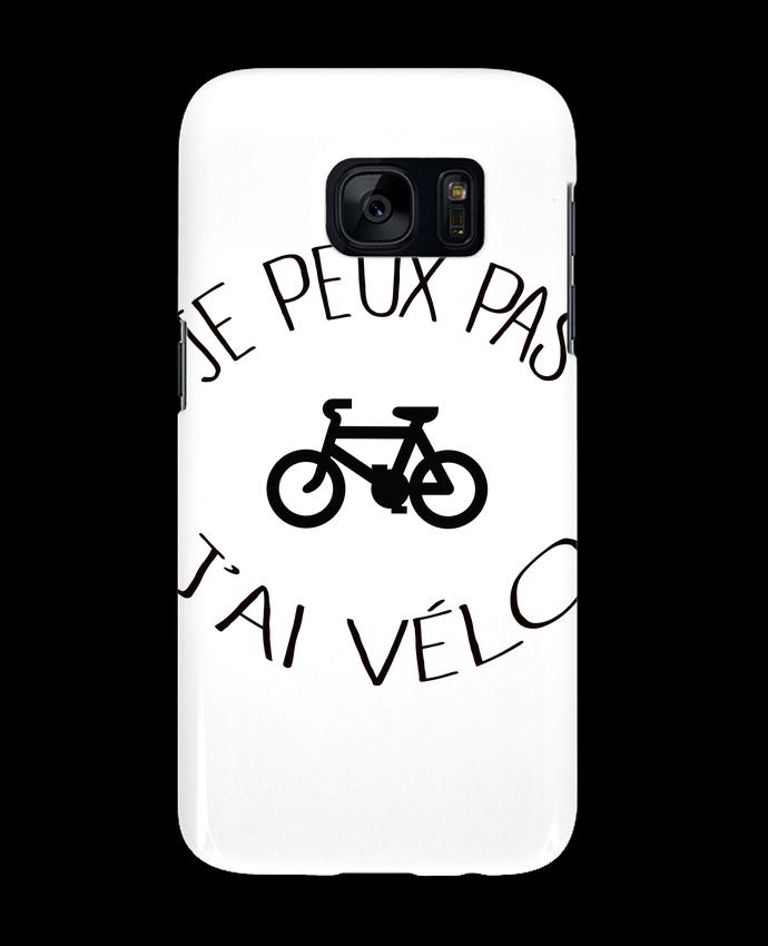 Coque 3D Samsung Galaxy S7 Je peux pas j'ai vélo par Freeyourshirt.com