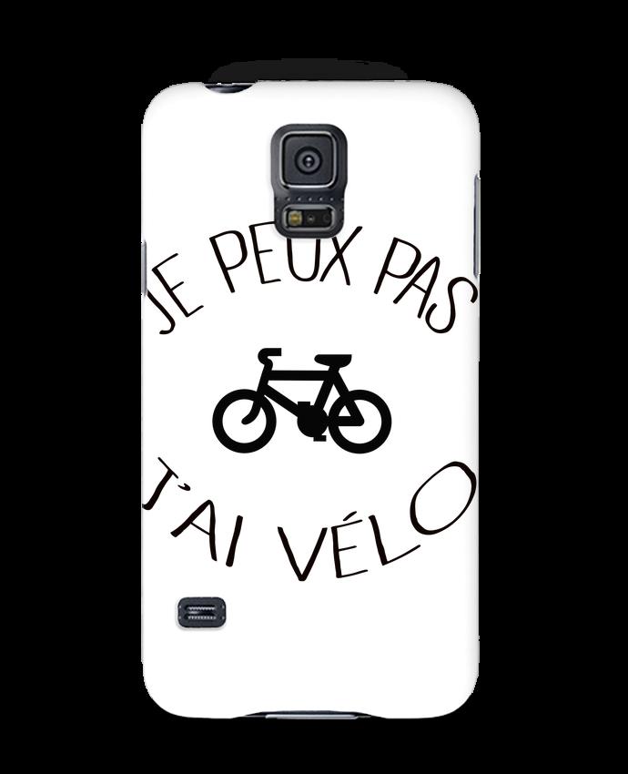 Coque 3D Samsung Galaxy S5 Je peux pas j'ai vélo par Freeyourshirt.com