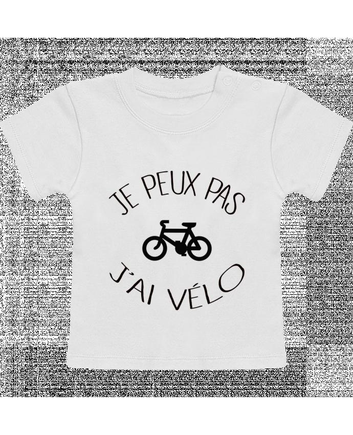 T-Shirt Bébé Manches Courtes Je peux pas j'ai vélo manches courtes du designer Freeyourshirt.com