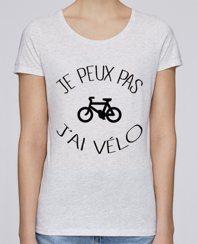 T-shirt Femme Stella Loves Je peux pas j'ai vélo par Freeyourshirt.com