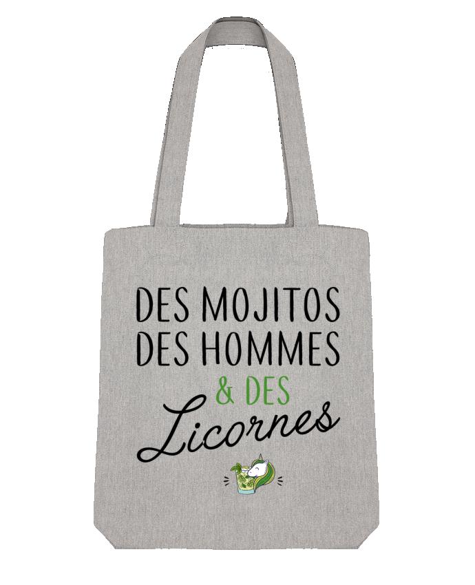 Tote Bag Stanley Stella Des mojitos des hommes & des licornes par LPMDL