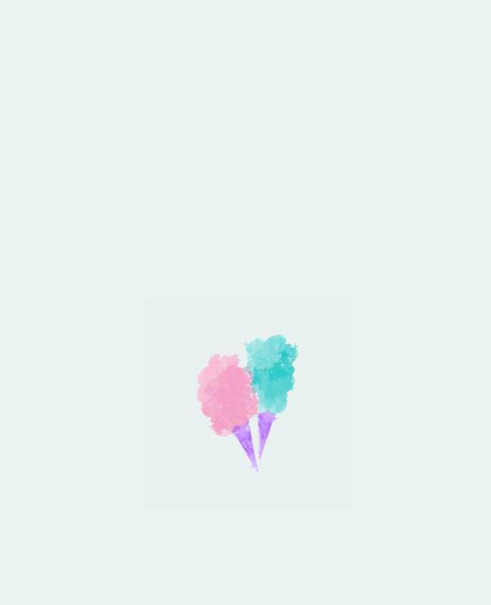 Sac en Toile Coton Watercolor Cotton Candy par PinkGlitter
