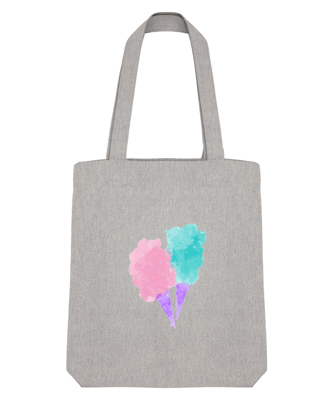 Tote Bag Stanley Stella Watercolor Cotton Candy par PinkGlitter