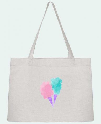 Sac Cabas Shopping Stanley Stella Watercolor Cotton Candy par PinkGlitter