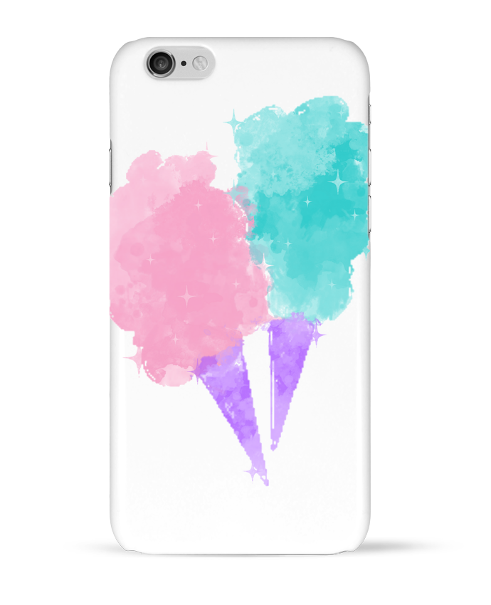 Coque 3D Iphone 6 Watercolor Cotton Candy par PinkGlitter