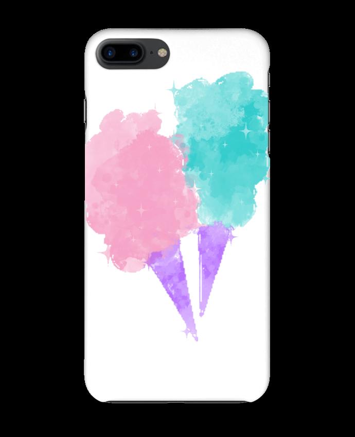 Coque 3D Iphone 7+ Watercolor Cotton Candy par PinkGlitter