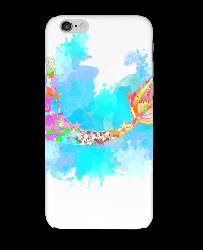 Coque 3D Iphone 6 Watercolor Mermaid par PinkGlitter